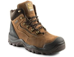 Buckler Buckshot BSH002BR Brown Safety Lace Boots