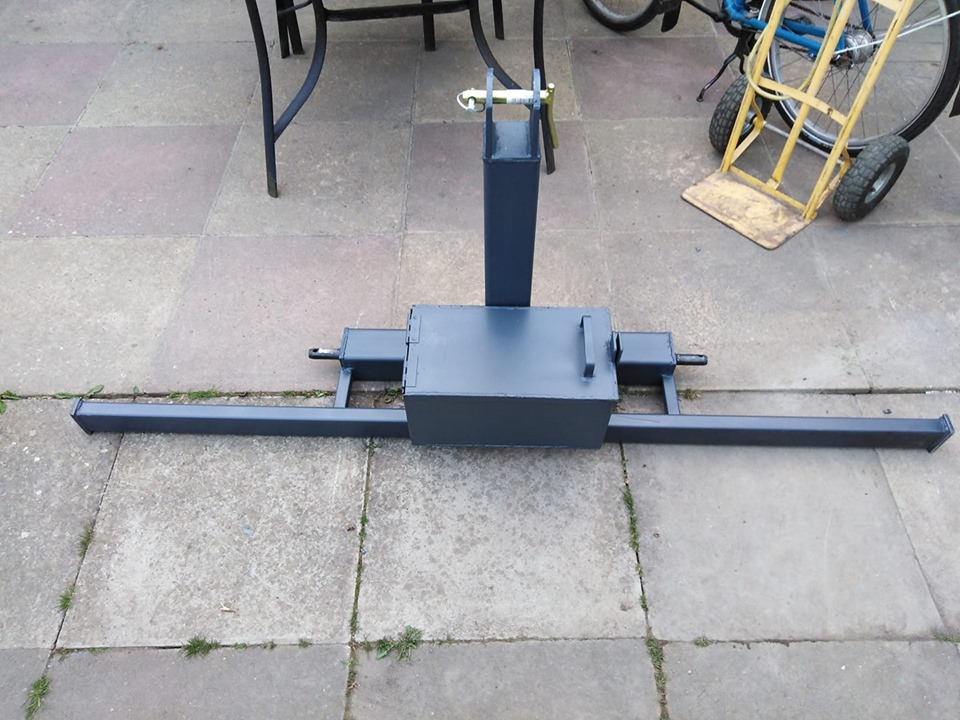 3 point linkage bull bar and toolbox to fit tractor